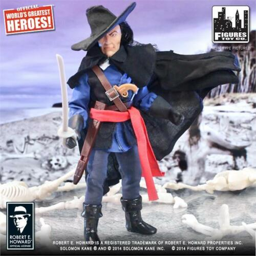 CONAN SERIES  SOLOMON KANE; 8 INCH FIGURE NEW IN POLYBAG LICENSED