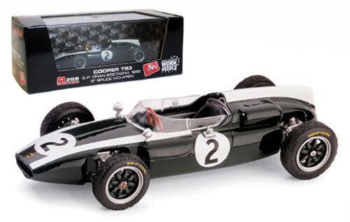Brumm R299 Cooper T53 British GP 1960 - Bruce McLaren 1 43 Scale