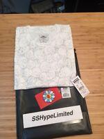 Sz M Takashi Murakami X Vans Skulls Tee White Limited Box Logo Floral Japan