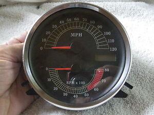 harley speedometer tachometer 95 03 road king