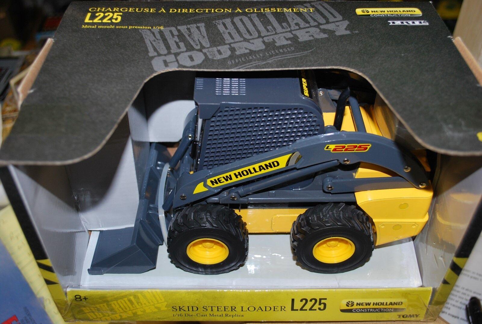 1 16 New Holland L225 skid steer loader, Ertl, new in box