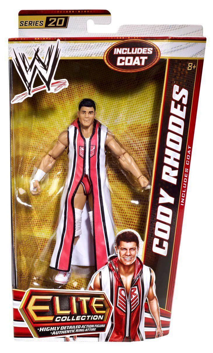 WWE ELITE Collection Series   20_CODY RHODES 6 inch action figure_Nuovo & Unopened