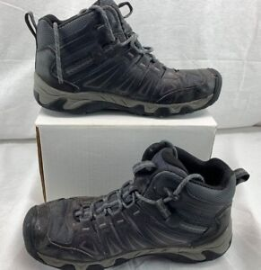 24c2a980a52 Details about KEEN Men's 1015307 Oakridge Mid Waterproof Hiking Boot  Magnet/Gargoyle Size 10
