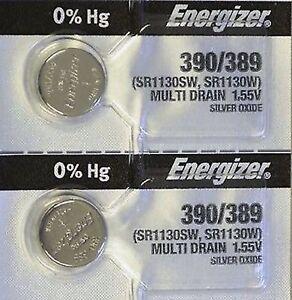 2-ENERGIZER-390-389-AG10-SR1130SW-2-Qt-BATTERIES-E390-389-Authorized-Seller