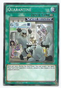 Quarantine-INOV-EN066-Yu-Gi-Oh-Short-Print-Common-Card-1st-Edition-English-Mint