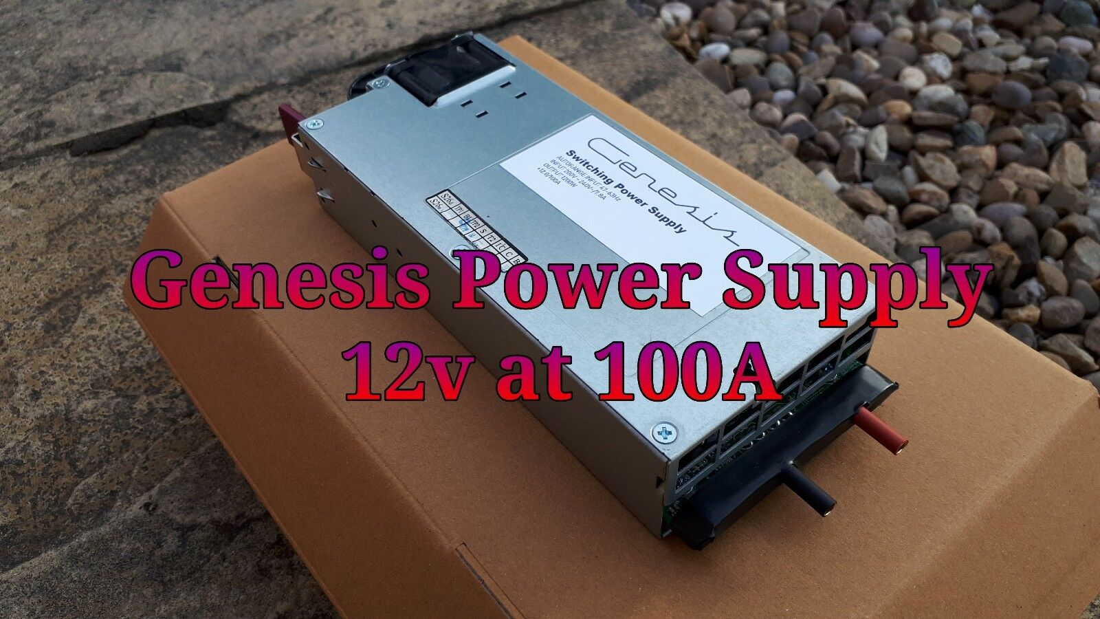 RC Power Supply.. (Genesis) Revolectrix power lab 8 ichargers. 12v 100A 1200w