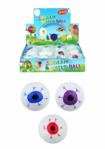 Splat Eye Balle Caoutchouc Stress Soulager Oeuf Jouet Autisme Enfants Adhd Halloween Toys UK