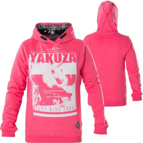Yakusa Femmes Unicorn Flex Hoody ghob 13104 Camellia Rose Pink Sweats