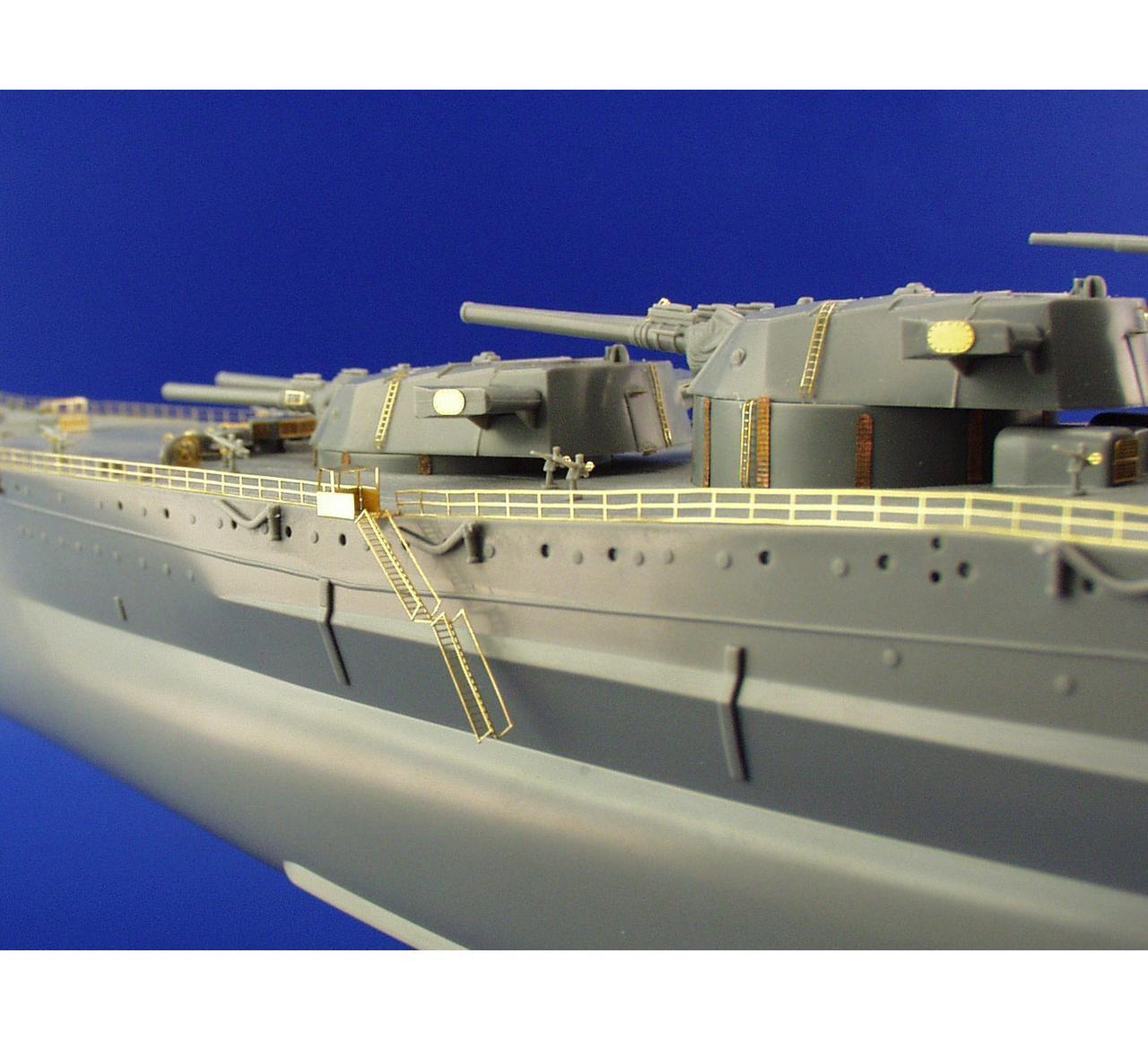 Eduard 53134 1 350 Ship- Musashi Railings detail set for Tamiya