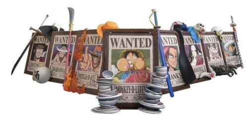Plex One Piece 3D Frame Wanted The Strong Rivals Figure Vol 2