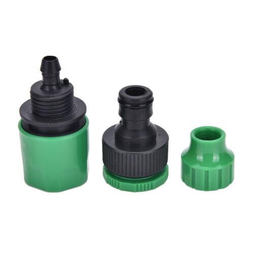 Rohrfitting Wasserhahn Adapter Schnellverbinder Wasserschlauch Garten  HH