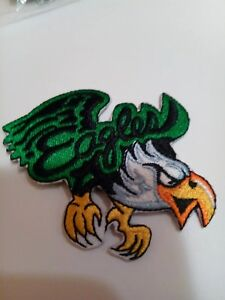 Philadelphia-Eagles-VINTAGE-NFL-Logo-Embroidered-Iron-On-Patch-3-034-x-2-5-034