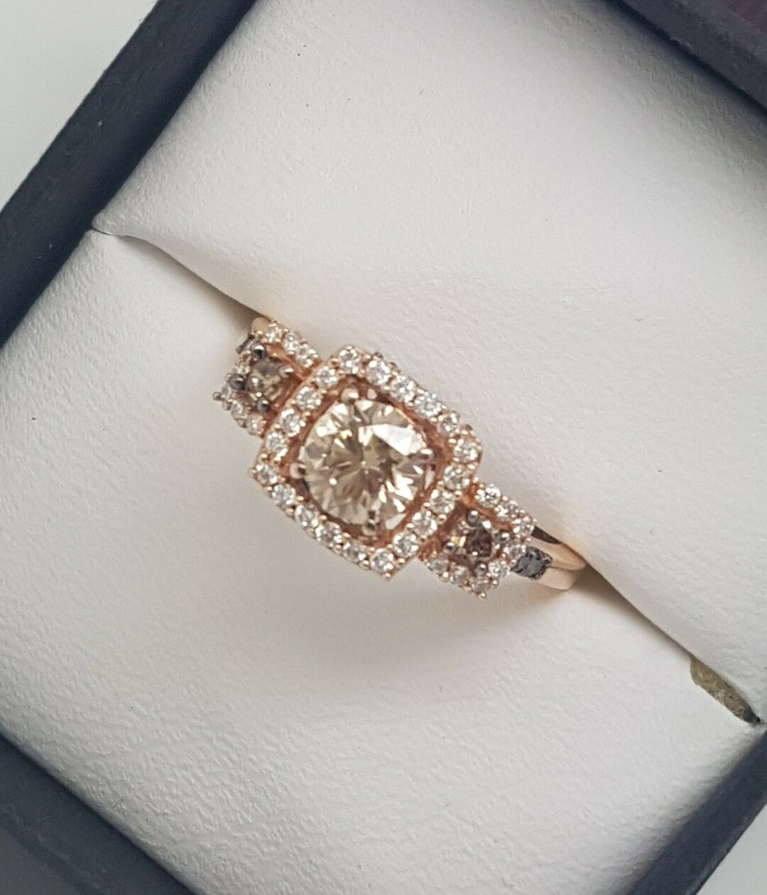 Mazzucchelli's Le Vian Chocolate Diamond Engagement Dress Ring 1.16ct RRP  5399