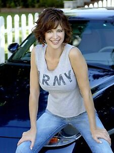 BEAUTIFUL SEXY CATHERINE BELL SALUTE TO THE ARMY 8X10 ...