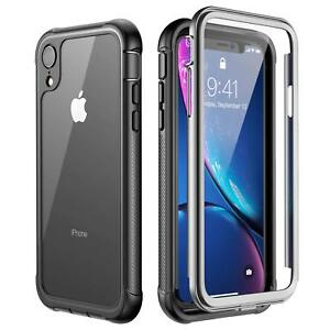 online store ae8bf 26b8d Temdan For iPhone XR/XS/XS Max/X Case Built-in Shockproof Full ...