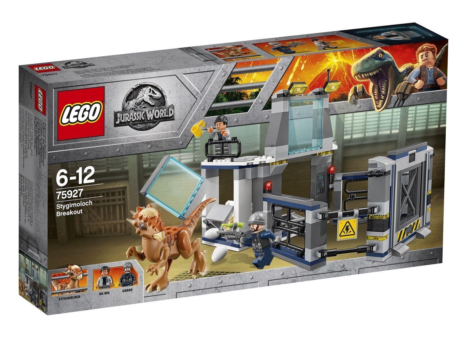 LEGO 75927 Jurassic World Stygimoloch Breakout 2018 (BNIB)
