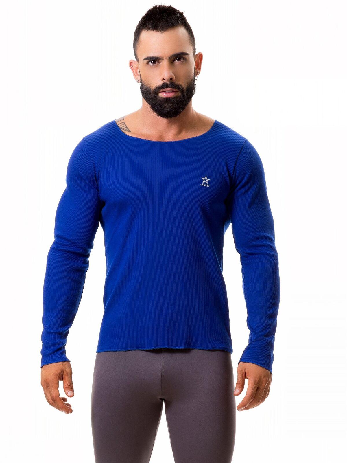 JOR 0368 Quebec Rippshirt SHIRT LANGARM LANGARM LANGARM Fitness Gym Longsleeve     | Ausgezeichnete Qualität  52aa4d