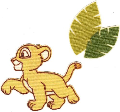 "2.5/""  Disney lion king nala palm tree fabric applique iron on character"