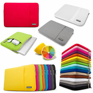 reputable site 3dfe4 7bc3c Details about POFOKO Brand Sleeve carry bag case For Macbook Air Pro /  White 11 13 15 17