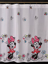 Disney  Voile Net Curtain -NEW MINNIE MOUSE  - 75cm width x 150cm drop