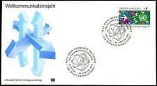 United Nations Vienna 1983 World Communications Year FDC First Day Cover #C39898