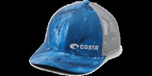 REALTREE FISHING TRUCKER BLUE REGULAR FIT COSTA DEL MAR HAT CAP