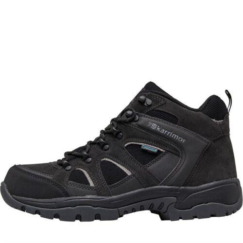 Karrimor Homme Bodmin Mi 4 Weathertite Hiking Bottes Noir Toutes Tailles