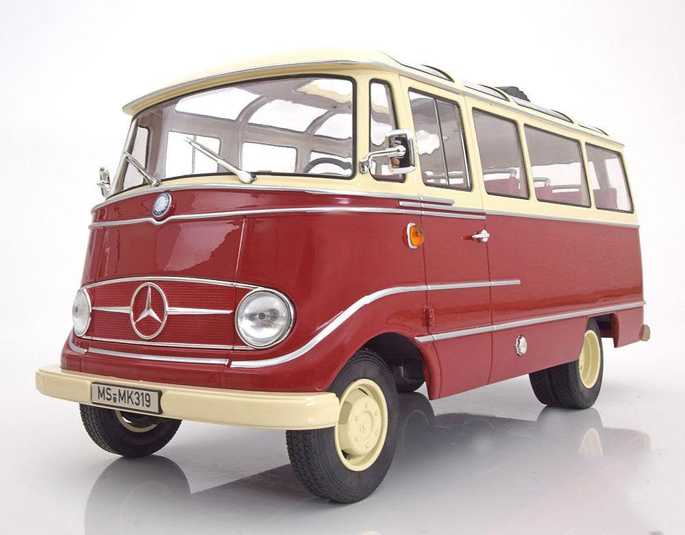 tomamos a los clientes como nuestro dios Norev 1965 Mercedes Benz O319 O319 O319 rojo y beige le 2000 un. 1 18New   barato en línea