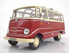 NOREV 1965 Mercedes Benz O319 Red and Beige LE 2000pcs 1:18*New!