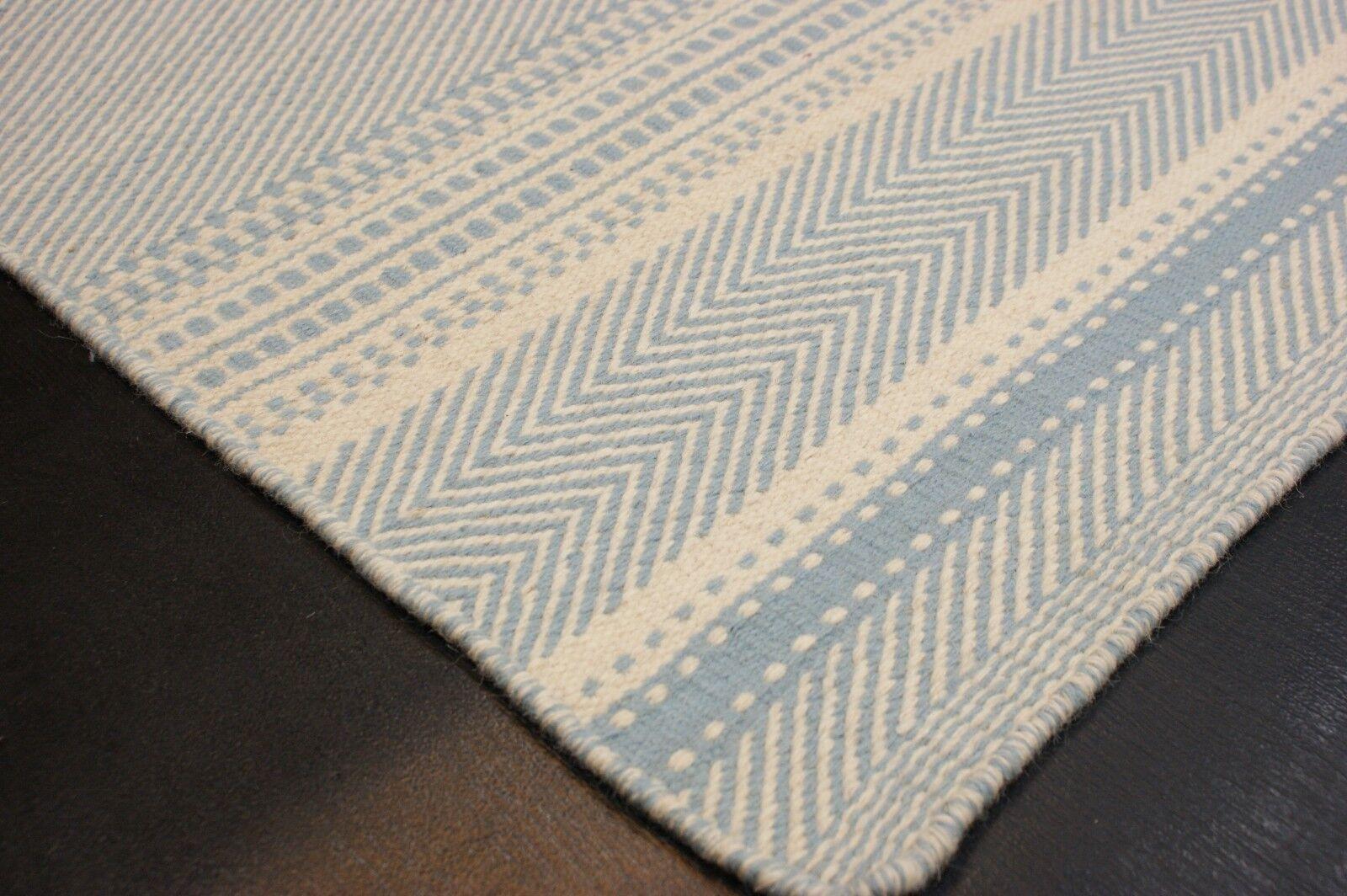 Designer natura Kilim Tappeto fatto a mano lana vergine finemente diverse dimensioni