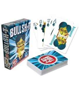 BS Button® Playing Cards Bullshit Button Card Game New 52 cards Sealed