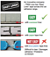 602B 1000 x Trax 5g Slim Adhesive Black Wheel Weights Roll Balance Weight//Tyre
