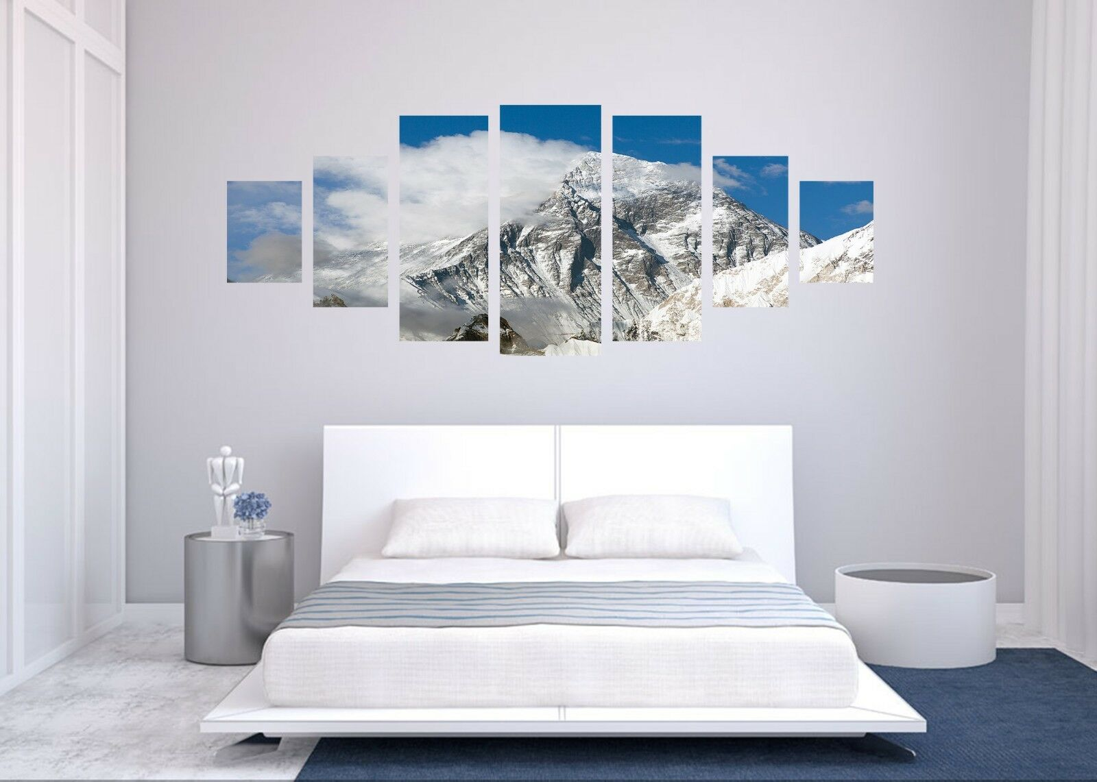 3D Snow Mountain 566 Unframed Print Wall Paper Decal Wall Deco Indoor AJ Wall