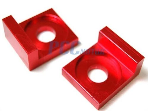 12MM RED CHAIN ADJUSTER BLOCK SWING ARM PIT BIKE XR50 CRF50 SDG 107 125 H AD04