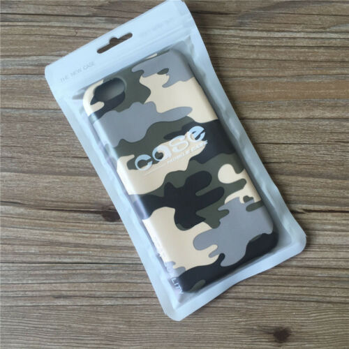 4 Sizes Matte Plastic Retail ZipLock Bags Hang Hole Phone Case Cover Packaging