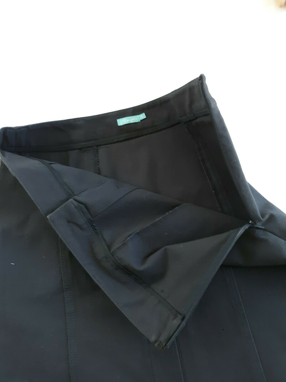 J McLaughlin Teal Button Front A Line Skirt Size 2 - image 10