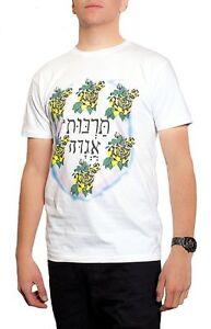 New-Men-039-s-White-Hebrew-Font-Boy-George-T-Shirt-Culture-Club