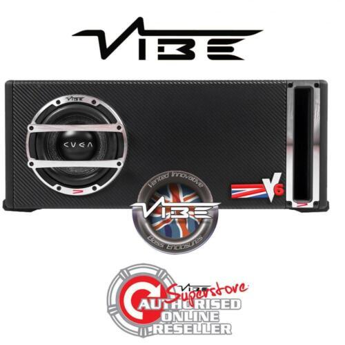 "Vibe CVENV 6L-V4 6.5/"" 300W Coche Sub Subwoofer Pasivo Compacto Pequeño Bajo Caja"