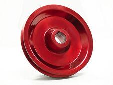 OBX Aluminum Crank Pulley Fits 96 97 98 99 00 Civic 1.6L SOHC Red