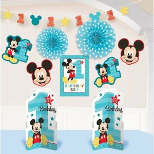 Disney Mickey Mouse Clubhouse Birthday Party Dangling Cutout Decorations 3 pack