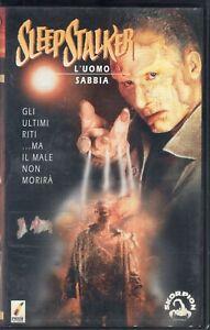 SLEEP-STALKER-l-039-Uomo-Sabbia-Usa-1995-VHS-Skorpion-Video-Mike-Harris