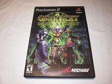 Gauntlet: Dark Legacy (Playstation PS2) Original Release Complete Vr Nice!