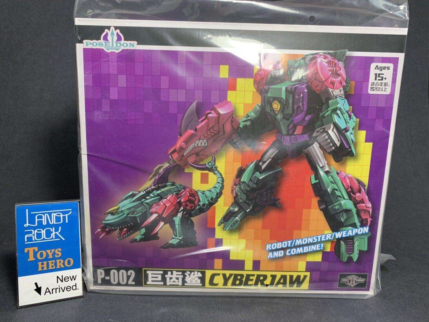 de moda Juguetes héroe] en en en mano [Transformers de TFC P-002 cyberjaw Poseidon combinar  ahorra hasta un 70%