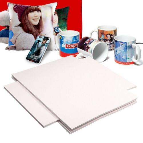 100 Sheets xA4 Dye Sublimation Heat Transfer Paper for Polyester Cotton T Shirt