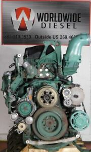 2014-Volvo-D13-Diesel-Engine-455-HP-Turns-360-For-Rebuild-Only