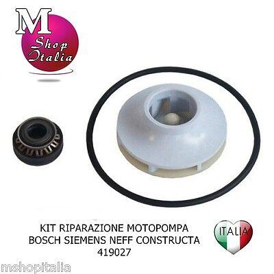 Kit riparazione per pompa lavastoviglie Bosch Siemens Neff 419027 compatibile