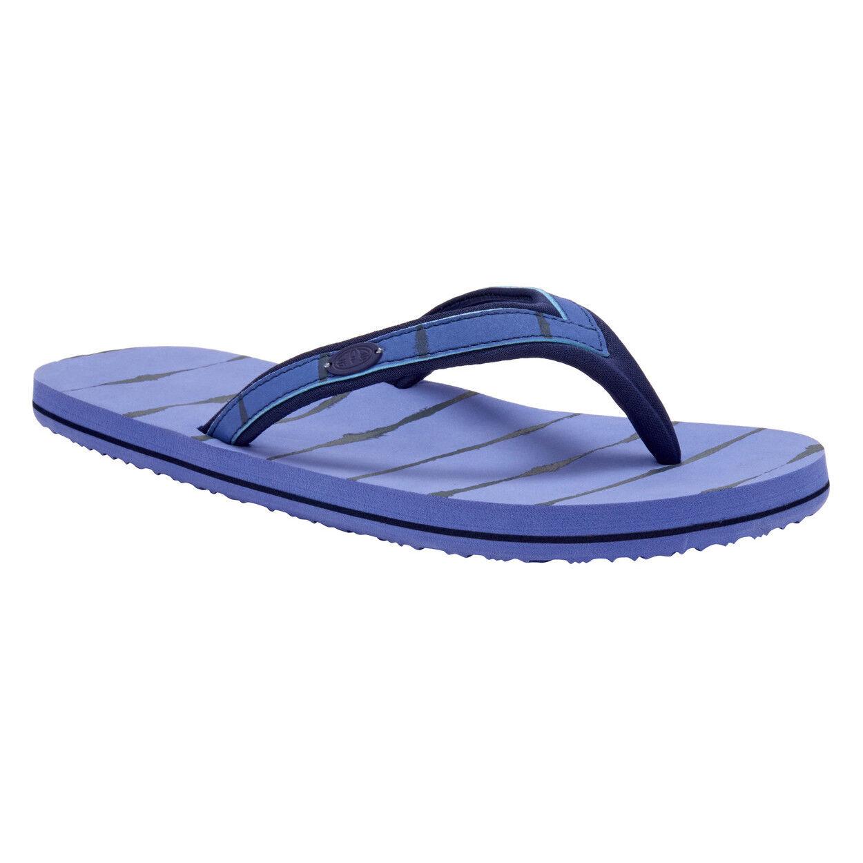 ANIMAL Flip NEW Womens Swish Slim Upper AOP Flip ANIMAL Flops Dusty Blue BNWT ac0d7f