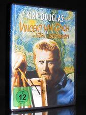 DVD VINCENT VAN GOGH - KIRK DOUGLAS + ANTHONY QUINN als PAUL GAUGUIN (Maler) NEU