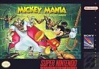 Mickey Mania: The Timeless Adventures of Mickey Mouse (Super Nintendo Entertainment System, 1994)