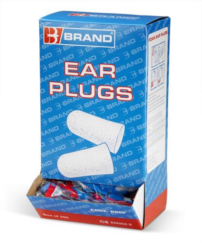 10 X B-Brand BBEP dispositivi di protezione dell/'udito Tappi per le orecchie in schiuma usa e getta confezione da 200 PAIA